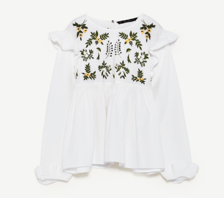 Shirt with Embroidered Flower.PNG